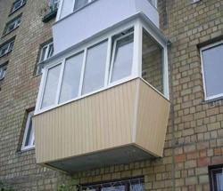 остекление балконов в Таштаголе
