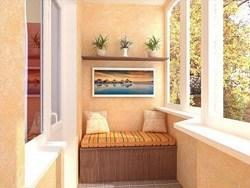 Внутренняя отделка балконов и лоджий в Таштаголе