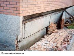 Восстановление фундамента г.Таштагол